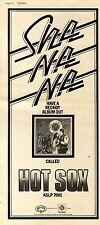 (Sds)21/9/1974Pg14 Album Advert 15x6 Sha Na Na hot Sox