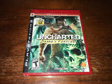 Uncharted Drake's Fortune - Playstation 3 - PS3 - New Sealed - Greatest Hits!