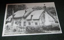 NOSTALGIA INK POSTCARD THATCHER (1930).