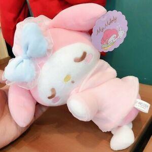 Cute 22cm My Melody Sleep Plush Toys Stuffed Animal Soft Doll Kids Gift Cartoon