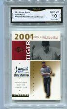 2001 Tiger Woods Upper Deck Williams World Challenge Rookie Gem Mint 10