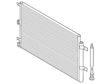 Genuine Ford Condenser Assembly HL3Z-19712-B