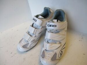 Giro Sante II SPD SPD-SL White Road cycling shoes EU40 excellent condition