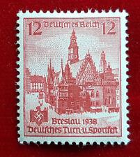 12 Pfennig Deutsches Reich Breslau 1938 Turn-u. Sportfest 667 Postfrisch (1C7)