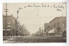 Antigo, Wisconsin, 5th Ave Looking West RPPC