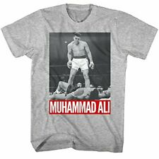 Muhammad Ali Boxing Legend The Greatest of All Time Adult KO T-Shirt 2X-Tall