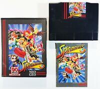 SNK Neo Geo AES SPINMASTER Ovp EUR/US