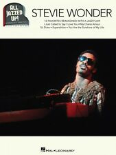 Stevie Wonder All Jazzed Up Sheet Music Piano Solo Book NEW 000149090