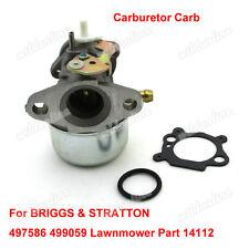 Vergaser Carb Für Briggs & Stratton Models 12H802-2349-D2 & 12H802-2349-E1