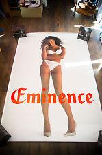 EMINENCE LINGERIE NAOMIE CAMPBELL B 4x6 ft Shelter Original Advertising Poster
