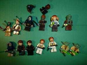 """STAR WARS LEGO  LOT  MINIFIGURE   MINIFIG   /""""  MACE  WINDU   75199  /"""""""