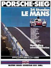 Porsche 936  Win 24 hrs Lemans 1976 Factory Poster New ON SALE