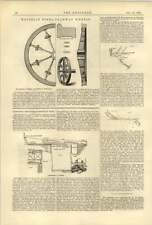 1888 Hansell Steel Tramway Wheels Torkham Bridge In India