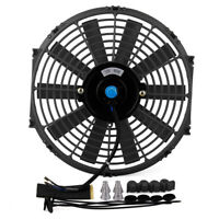"12"" 80W Universal Electric Radiator Cooling Fan Car Engine Cooling Exhaust Fan"