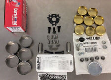350 Small Block Chevy Race Cam Bearings Brass Plugs Cam Plate Hardware Block Kit