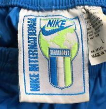 VTG Nike International Windbreaker Pants Track Large 90's Agassi Flight Jordan