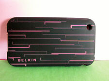 BELKIN Grip Shift Black Silicon Case for Apple iPhone 3G 3GS F8Z495 FREE POST