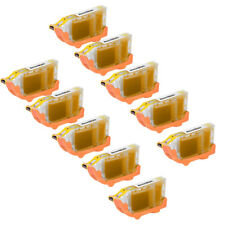 10pk BCI-6Y BCI-6 BCI6 YELLOW Ink Printer Cartridge for Canon BJC-8200 i560 i860