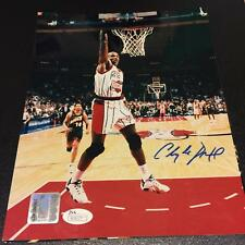 4e2740667 Clyde Drexler Signed Autographed 8x10 Dunking Photo Houston Rockets With  JSA COA