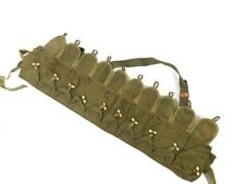SKS Ammo Chest Rig 10 pocket Pouch Bandoleer, NOS CHICOM