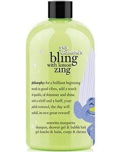 Philosophy TROLLS Shampoo Shower Gel Bubble Guy Diamond Bling With Lemon Zing