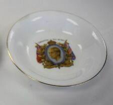 KING GEORGE VI 1936 CORNATION SMALL DISH, FOLEY WARE MADE IN ENGLAND, NICE