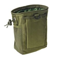 Army Green Ammo Dump Pouch Utility Bag Hunting Gun Sling Tactical Magazine
