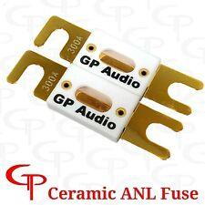New listing (2 Pack) Ceramic 350 Amp Gold Plated Anl Fuses Gp Car Audio