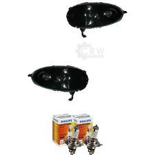 Scheinwerfer Set für Nissan Micra K12 Bj. 05-07 Facelift schwarze Maske Valeo