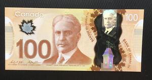 CANADA 100 DOLLARS 2011(2014) UNC P-110c POLYMER