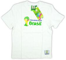 Vêtements blanc avec des motifs Logo pour garçon de 2 à 16 ans en 100% coton