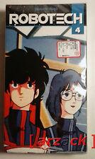 ROBOTECH 4 Yamato Video VHS NUOVO SIGILATO celophanato