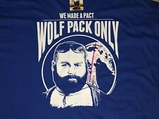 Hangover 2 We Made a Pact Wolf Pack Only Shirt size 2XL Brand New