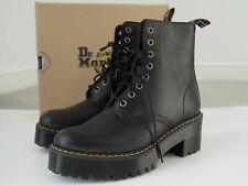 Dr Martens Shriver Hi Lace-Up Ankle Boots Black Leather UK6