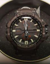New Casio G-SHOCK GWA1000FC-5A Brown Resin Multi-Function Aviator Watch SOLAR