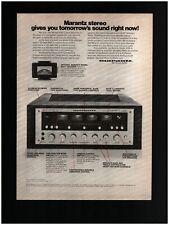 1972 Marantz Model 4100 Stereo Amplifier Original Print Ad ~ Free Ship ~ Quad 4