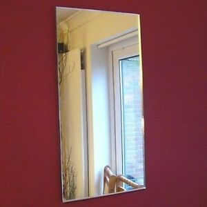 Rectangle Shaped Acrylic Mirrors - Various Sizes
