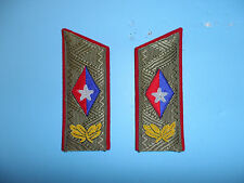 b5530 Cuba Cuban Fidel Castro Sholder Boards for Service Uniform pair