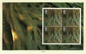 MGB36) Great Britain 2000 A Treasury of Trees Booklet Pane MUH