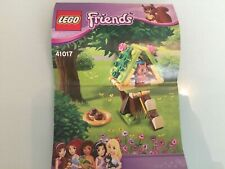 LEGO  Squirrel's Tree House 41017 Manual, but no box 100% complete