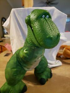"2009 Fisher Price Toy Story 3 Big Roarin Rex T2406 13"" dinosaur plush noise"