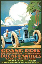 1929 Grand Prix Dupont International Print A4 reproduction advertisment
