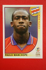 PANINI KOREA JAPAN 2002 # 238 COSTA RICA WANCHOPE WITH BLACK BACK MINT!!!