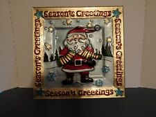 Pfaltzgraff Holiday Happenings Santa Christmas Platter/Plate Serving #5161784