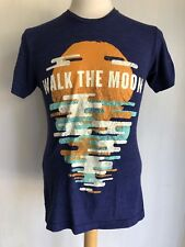 WALK THE MOON (2014) Official SOLD OUT American Apparel 50/25/25 T-Shirt Small