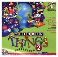 Thinkin Things Collection 2 Pc New Cd Rom In Paper Sleeve Win10 8 7 XP