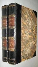 John LAMBERT TRAVELS THROUGH CANADA, US 1814. In 2 Vols 17 Acquatint Plates