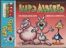 silver LUPO ALBERTO n.28 1987 glenat  originale