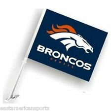 Denver Broncos NFL Car Flag Window Pole Banner Auto Truck Football Fan Tailgate