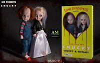 Mezco Living Morti Dolls - Chucky & Tiffany Scatola Set - Figura -